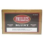 Phillies Blunt Cigars Chocolate (Brown) Box