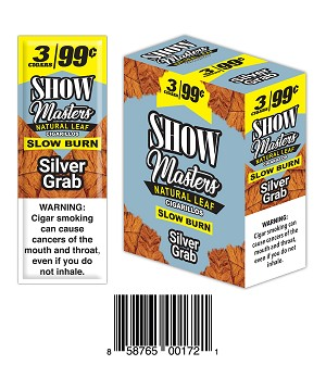 Show Masters Natural Leaf Silver Grab 3/.99
