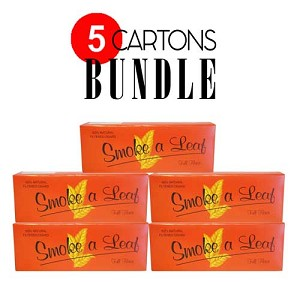 Smoke a Leaf Filtered Cigar Full Flavor Bundle 5