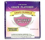 Swisher Sweets Cigarillos Grape Box