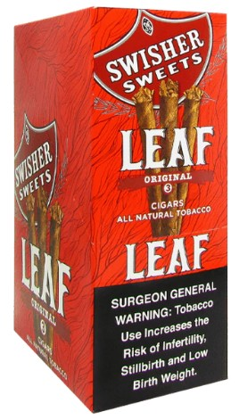 Swisher Sweets Leaf Original Pre-Priced 3 for $1.79